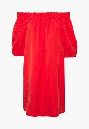 DESERT OFF SHOULDER DRESS - Day dress - apple red