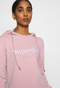 Superdry - HARPER HOODED  - Vapaa-ajan mekko - soft pink - 3