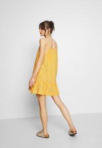 Superdry - DAISY BEACH DRESS - Korte jurk - yellow floral - 2