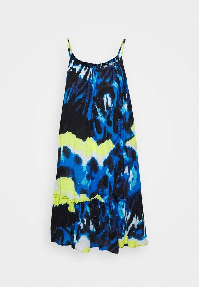DAISY BEACH DRESS - Sukienka letnia - blue