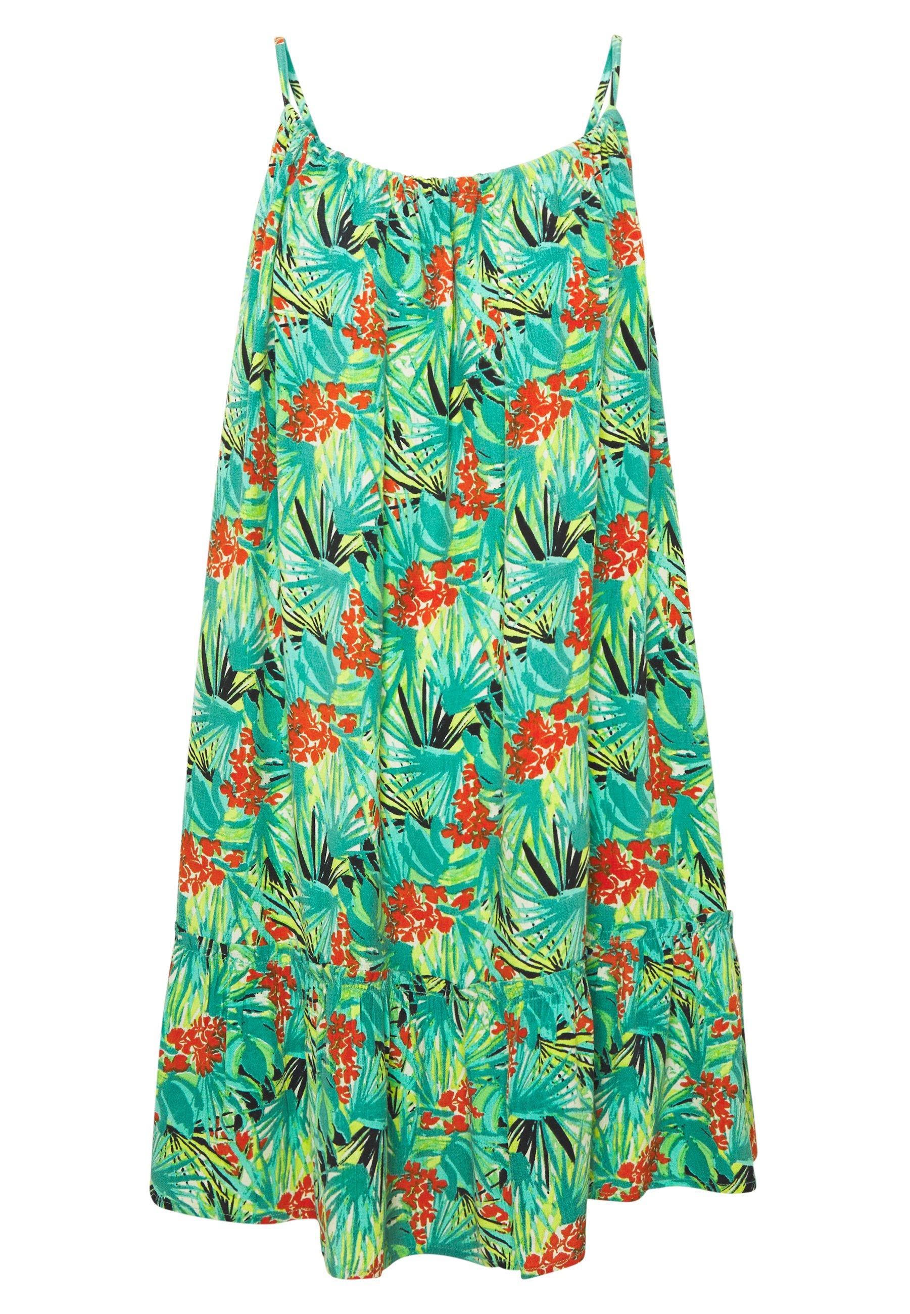 Superdry Daisy Beach Dress - Vestito Estivo Yellow Floral xVtEp