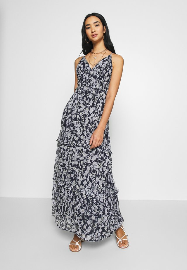 MARGAUX DRESS - Maxi-jurk - navy
