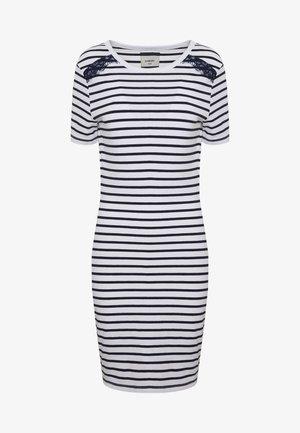 EDEN MIX DRESS - Sukienka z dżerseju - white
