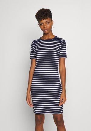 EDEN MIX DRESS - Jerseyjurk - navy