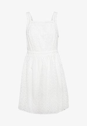 BLAIRE BRODERIE DRESS - Denní šaty - chalk white