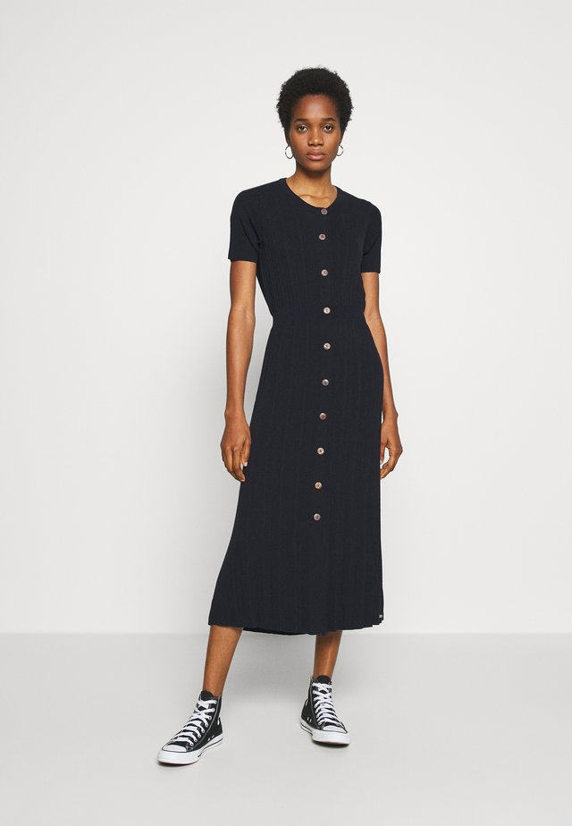 TILLY MIDI DRESS - Gebreide jurk - atlantic navy