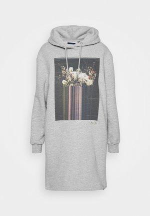 PHOTOGRAPHIC DRESS - Kjole - grey