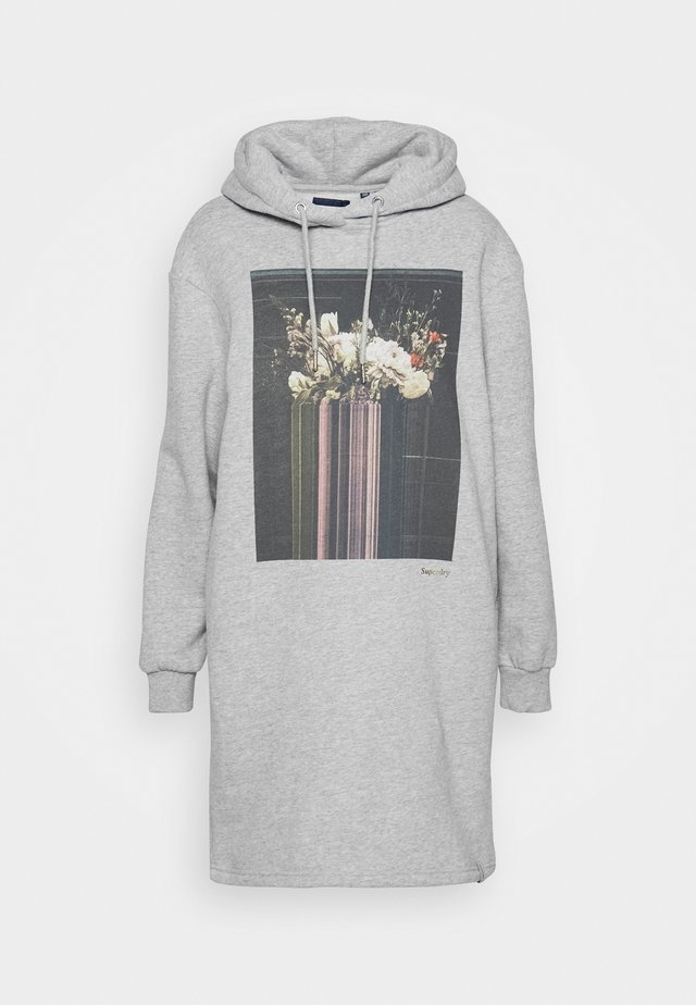 PHOTOGRAPHIC DRESS - Denní šaty - grey