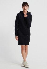 Superdry - ORANGE LABEL  - Korte jurk - black - 1