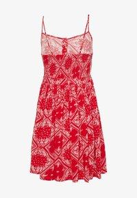 Superdry - AMELIE CAMI DRESS - Korte jurk - red - 1