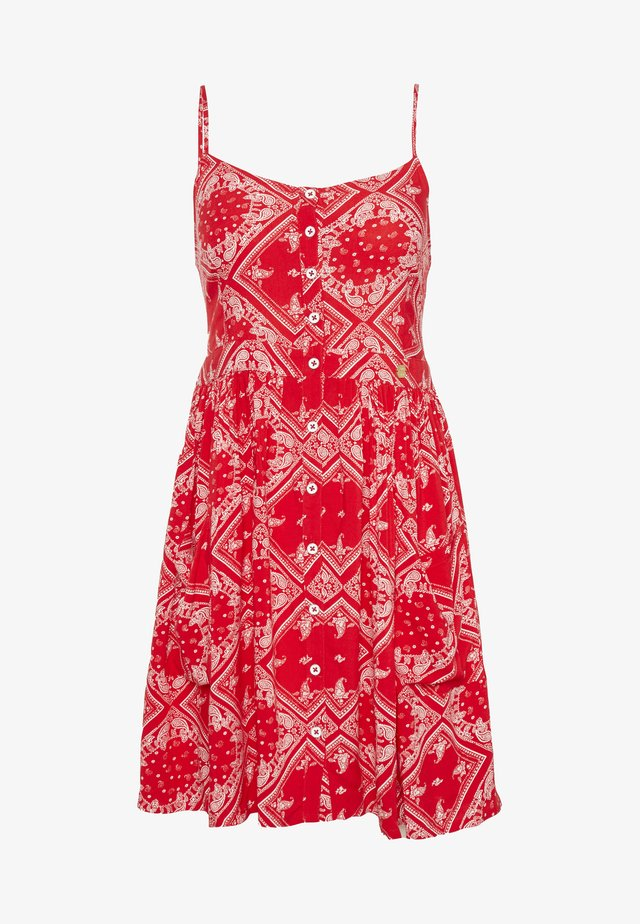 AMELIE CAMI DRESS - Korte jurk - red