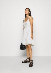 Superdry - GIA CAMI DRESS - Korte jurk - white - 1