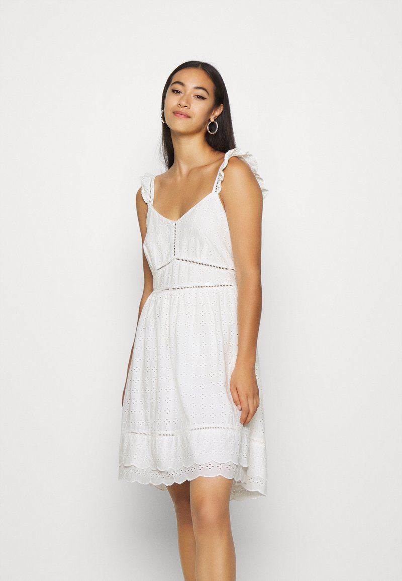 Superdry - GIA CAMI DRESS - Korte jurk - white