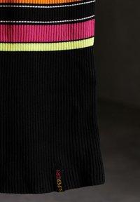 Superdry - Gebreide jurk - black stripe - 2