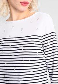 Superdry - CONVERSATIONAL BRETTON - T-shirt à manches longues - optic foil - 3