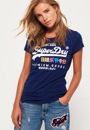 PREMIUM GOODS PUFF ENTRY TEE - T-shirt imprimé - royal blue