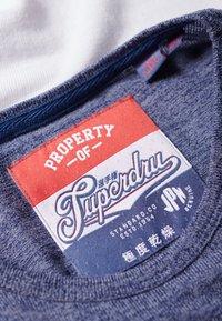 Superdry - VINTAGE BASEBALL OBERTEIL - T-shirt à manches longues - black/bright pink - 4