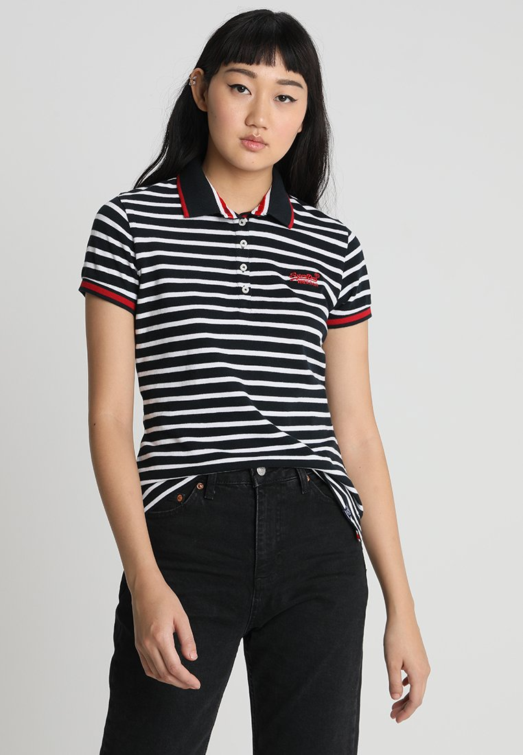 Superdry - CLASSIC - Poloshirt - eclipse navy