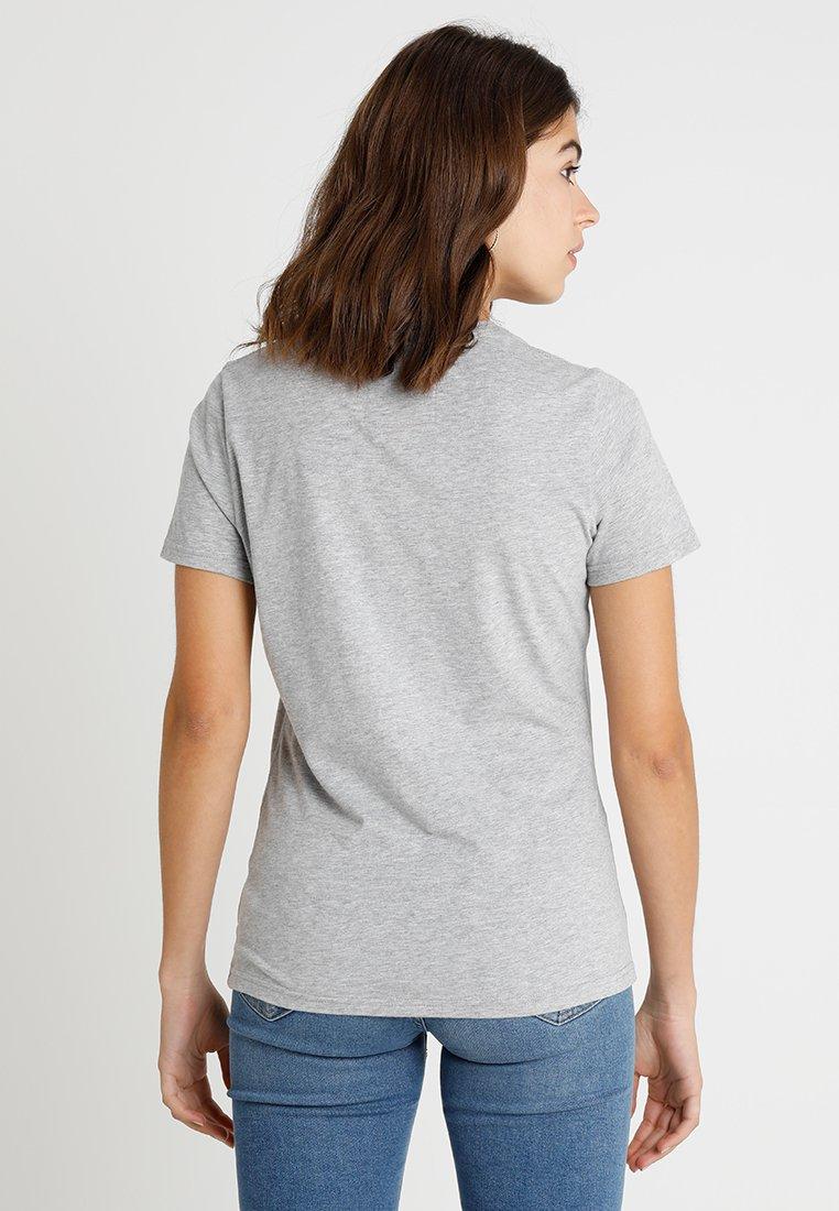 Logo Grey Superdry Marl Boutique TeeT Imprimé Entry Vintage shirt Embroidery OTXwilPkZu