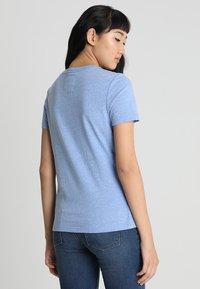 Superdry - VINTAGE LOGO CARNIVAL ENTRY TEE - T-shirt imprimé - cruz blue snowy - 2