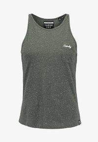 Superdry - ESSENTIAL TANK - Top - washed khaki - 4