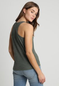 Superdry - ESSENTIAL TANK - Top - washed khaki - 2