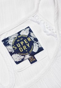 Superdry - RICKY CAMI - Blouse - white - 4