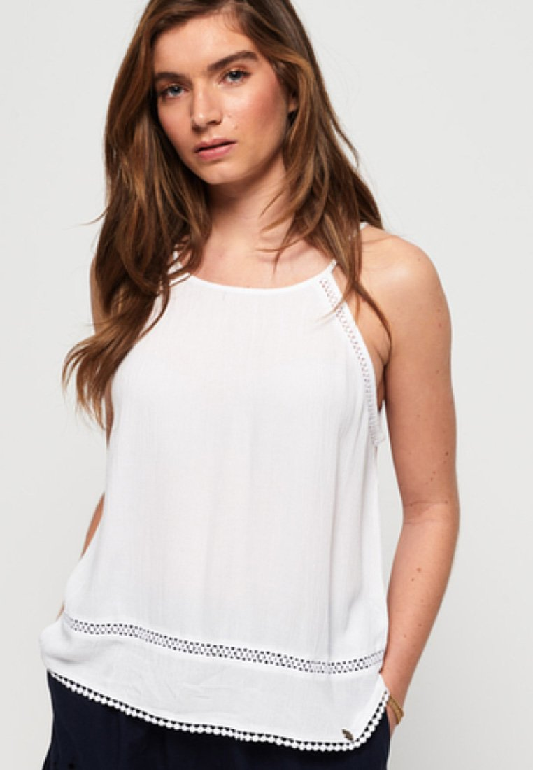 Superdry - RICKY CAMI - Blouse - white