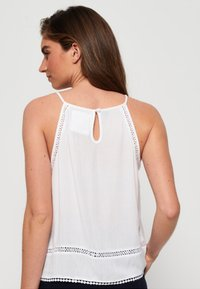 Superdry - RICKY CAMI - Blouse - white - 2