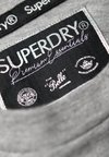 Superdry - PREMIUM CREW NECK TEE - T-Shirt print - grey