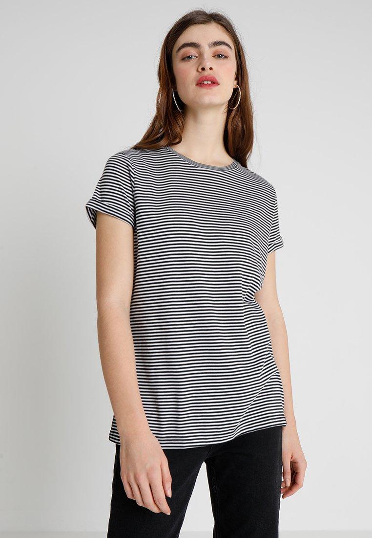 Superdry - PREMIUM CREW NECK TEE - T-Shirt print - black mini