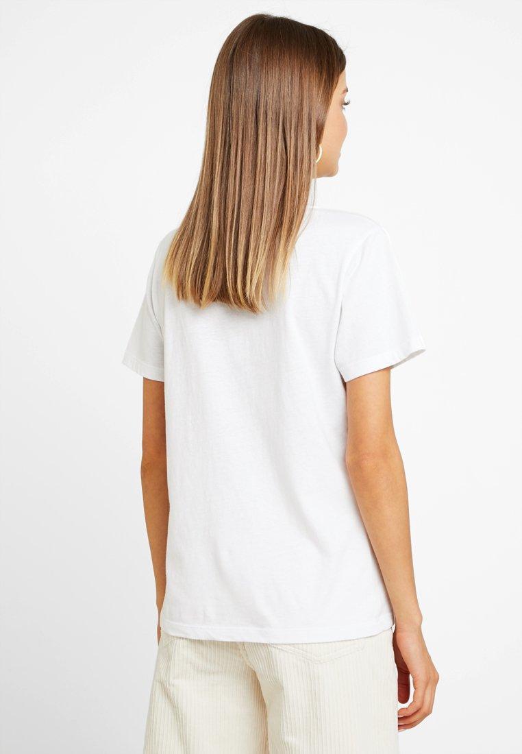 TeeT Vee White shirt Essential Bright Basique Superdry BCoWxerd