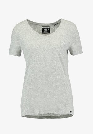 ESSENTIAL TEE - T-shirt basic - mid grey marl