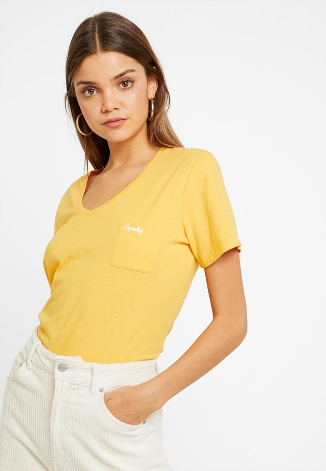 ESSENTIAL TEE - T-shirt basic - desert ochre