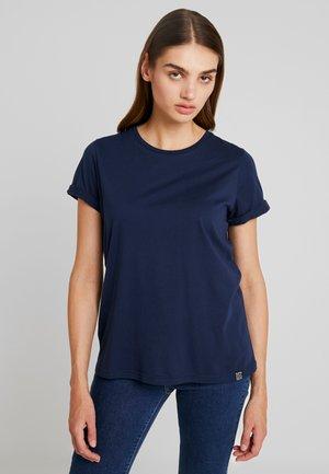 CREW TEE - Basic T-shirt - nautical navy