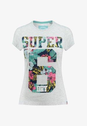 T-shirt z nadrukiem - gray