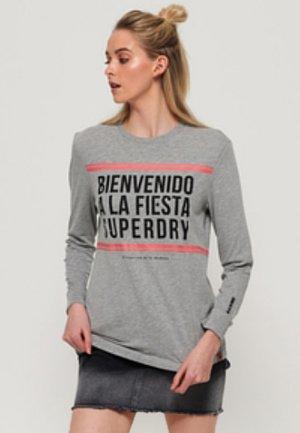 CUBA  - Long sleeved top - grey