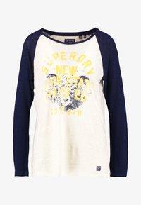 Superdry - BASEBALL - T-shirt à manches longues - beechwater blue - 4