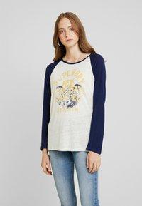 Superdry - BASEBALL - T-shirt à manches longues - beechwater blue - 0
