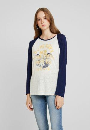 BASEBALL - T-shirt à manches longues - beechwater blue