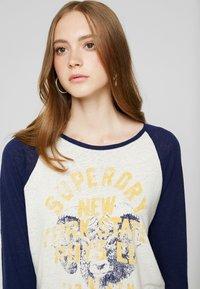 Superdry - BASEBALL - T-shirt à manches longues - beechwater blue - 3