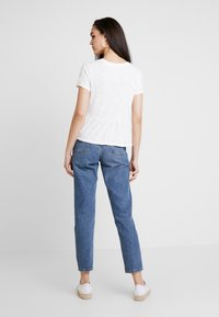 Superdry - PEPLUM RODEO TEE - T-shirts med print - off white - 2