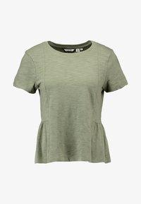 Superdry - PEPLUM RODEO TEE - T-shirts print - sage - 4