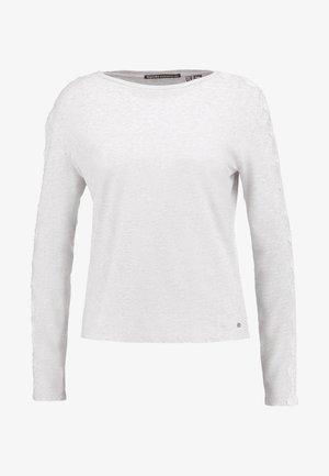 TRIM LONGSLEEVE - Long sleeved top - grey marl