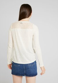 Superdry - GRAPHIC - Longsleeve - off white - 2
