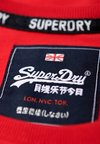 Superdry - T-Shirt print - red