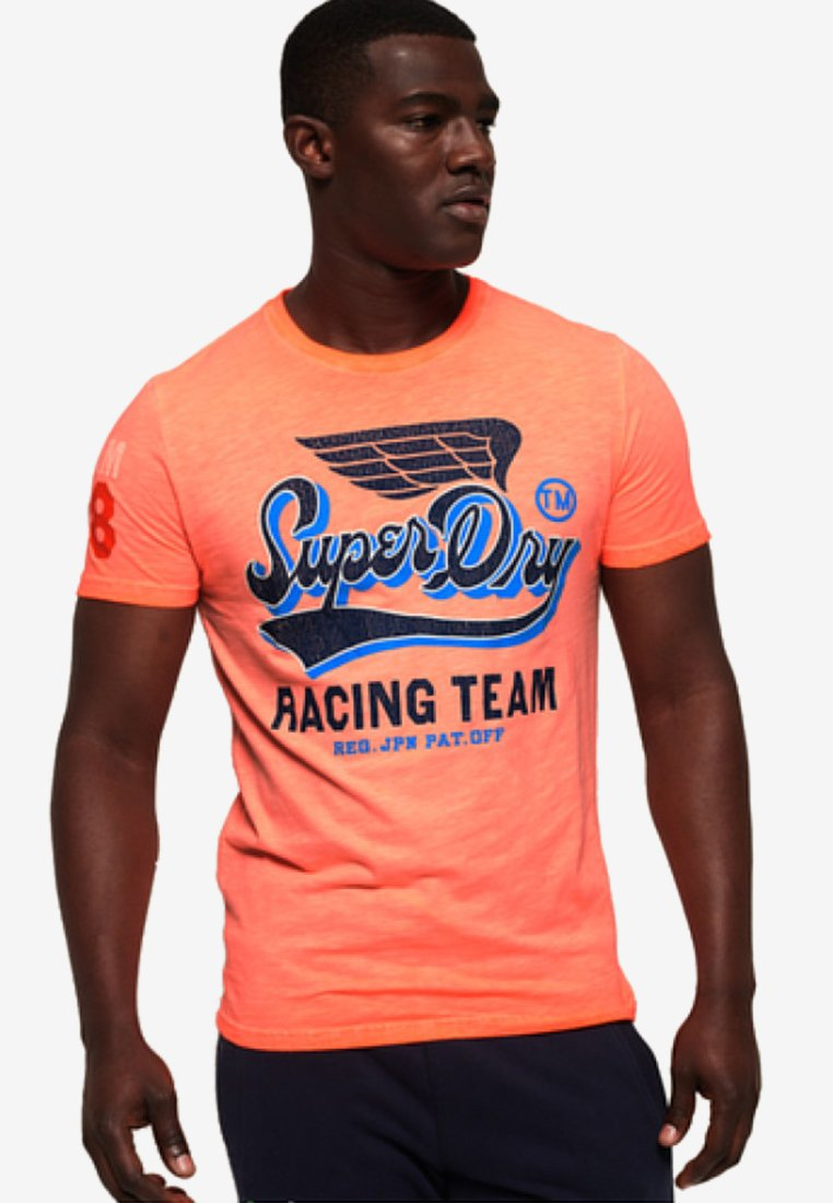 PaitaT PaitaT Orange Superdry shirt Superdry shirt Imprimé A5R4jqSc3L