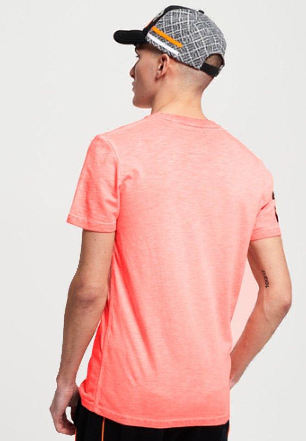 Superdry - T-PAITA - T-Shirt print - orange