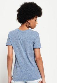 Superdry - TROPICAL BURST - Camiseta estampada - blue - 2