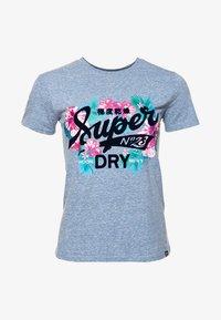 Superdry - TROPICAL BURST - Camiseta estampada - blue - 4